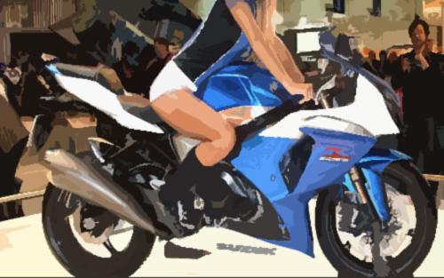 水冷式大型バイク